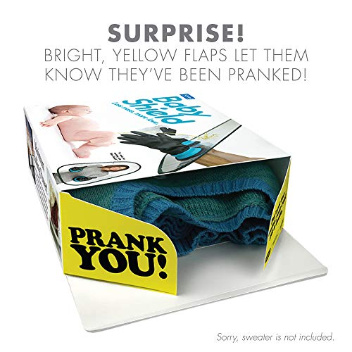 """Prank Pack """"Roto Wipe"""" Wrap Your Real Gift In A Funny Joke Box By O WHITE"""